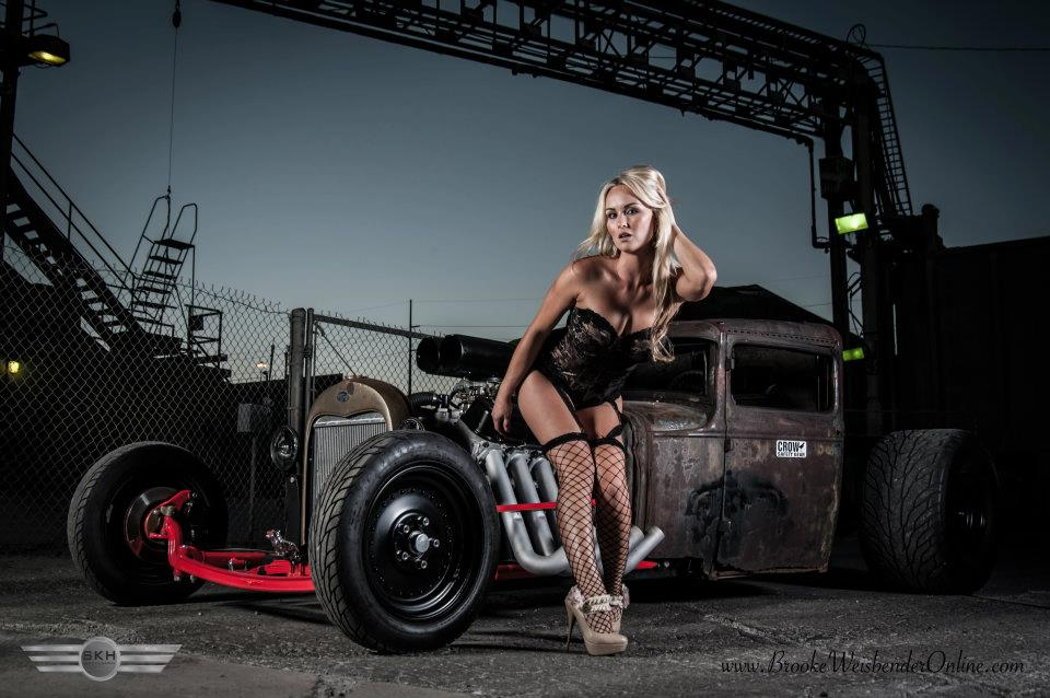 Brooke Weisbender Maxim Rat Rod