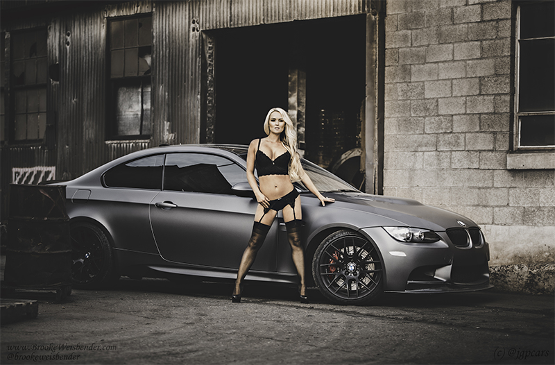 Supercharged E92 M3 Poster image